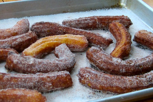 Spiced Pumpkin Churros Image